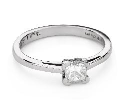 """Teemantidega kihlasõrmus """"Printsess 103"""""""