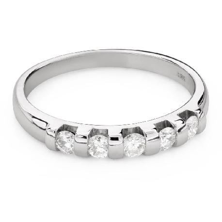 """Briljantidega kihlasõrmus """"Teemantidega lint 54"""""""