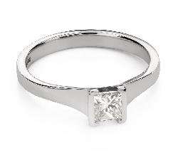 """Teemantidega kihlasõrmus """"Printsess 104"""""""
