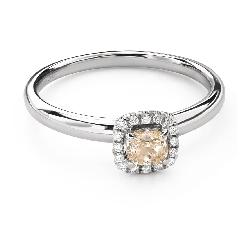 """Teemantidega kihlasõrmus """"Briljantide kimp 55"""""""