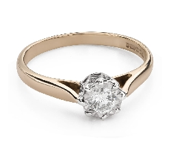 """Engagement ring with brilliant """"Lover 144"""""""
