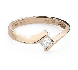 """Teemantiga kihlasõrmus """"Printsess 106"""""""