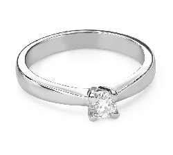 """Engagement ring with brilliant """"Goddess 164"""""""