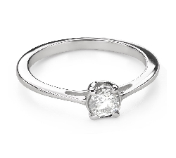 """Engagement ring with brilliant """"Goddess 174"""""""