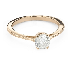 """Engagement ring with brilliant """"Goddess 181"""""""
