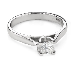 """Engagement ring with brilliant """"Strength 116"""""""