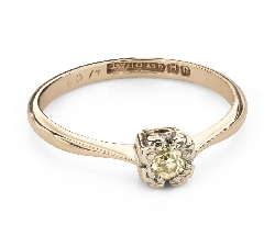 """Engagement ring with brilliant """"Lover 151"""""""