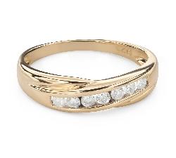 """Briljantidega kihlasõrmus """"Teemantidega lint 55"""""""