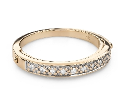 """Teemantidega kihlasõrmus """"Teemantidega lint 56"""""""