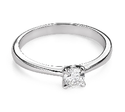 """Engagement ring with brilliant """"Goddess 189"""""""