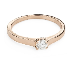 """Engagement ring with brilliant """"Goddess 194"""""""