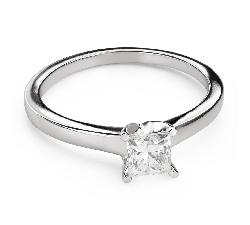 """Teemantidega kihlasõrmus """"Printsess 108"""""""