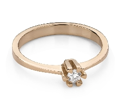 """Engagement ring with brilliant """"Strength 119"""""""