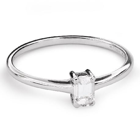 """Teemantiga kihlasõrmus """"Tugevus 105"""""""