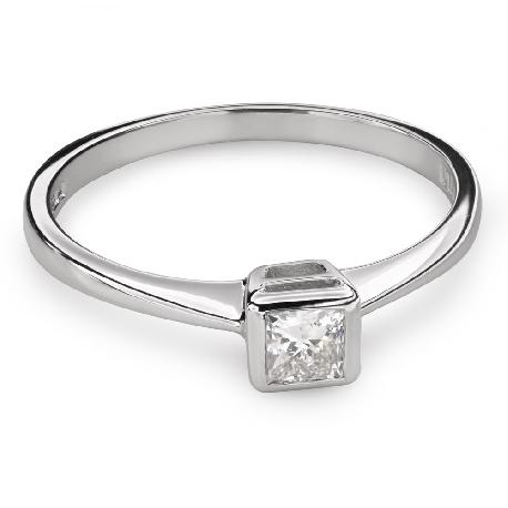 """Teemantiga kihlasõrmus """"Printsess 80"""""""