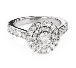 """Teemantidega kihlasõrmus """"Kroon 24"""""""