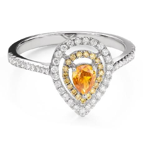 """Teemantidega kihlasõrmus """"Südame kuninganna 32"""""""
