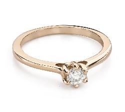 """Briljandiga kihlasõrmused """"Südame kuninganna 34"""""""