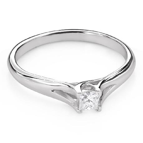 """Teemantiga kihlasõrmus """"Printsess 110"""""""