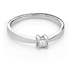 """Teemantiga kihlasõrmus """"Printsess 111"""""""