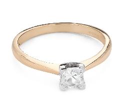 """Teemantiga kihlasõrmus """"Printsess 116"""""""