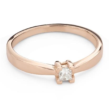 """Teemantiga kihlasõrmus """"Printsess 118"""""""