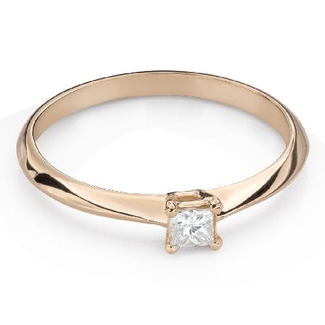 """Teemantiga kihlasõrmus """"Printsess 120"""""""