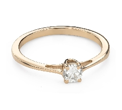 """Engagement ring with brilliant """"Goddess 221"""""""