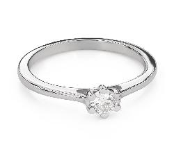 """Briljandiga kihlasõrmused """"Südame kuninganna 38"""""""