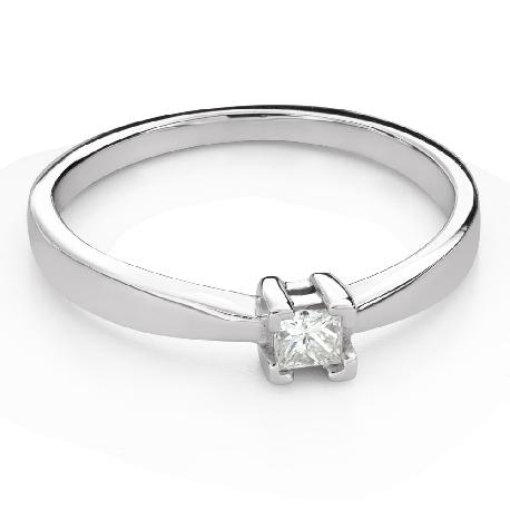 """Teemantiga kihlasõrmus """"Printsess 121"""""""