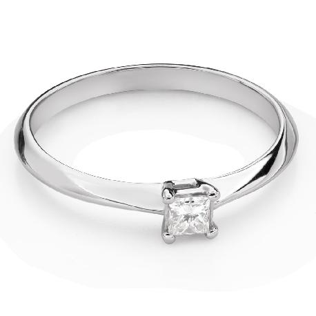 """Teemantiga kihlasõrmus """"Printsess 124"""""""
