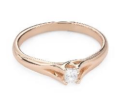 """Teemantiga kihlasõrmus """"Printsess 125"""""""