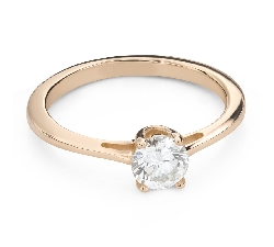 """Engagement ring with brilliant """"Goddess 227"""""""