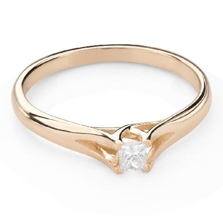 """Teemantiga kihlasõrmus """"Printsess 131"""""""
