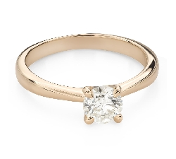 """Engagement ring with brilliant """"Goddess 229"""""""
