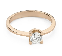 """Engagement ring with brilliant """"Unforgettable 21"""""""