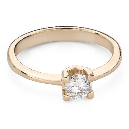 """Engagement ring with brilliant """"Unforgettable 23"""""""