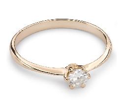 """Briljandiga kihlasõrmused """"Printsess 100"""""""
