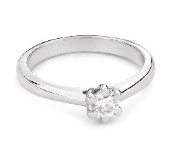 """Briljandiga kihlasõrmused """"Printsess 124"""""""