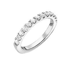 """Briljantidega kuldsõrmus """"Teemantidega lint 59"""""""