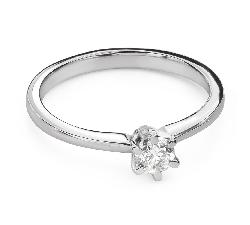 """Teemantiga kihlasõrmus """"Printsess 127"""""""