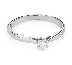 """Teemantiga kihlasõrmus """"Printsess 128"""""""
