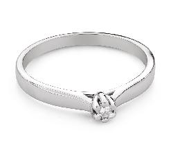 """Teemantiga kihlasõrmus """"Printsess 130"""""""