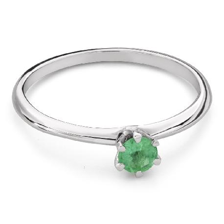 """Vääriskiviga kihlasõrmus """"Smaragd 26"""""""