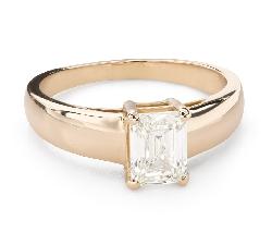 """Teemantiga kihlasõrmus """"Unustamatu 35"""""""